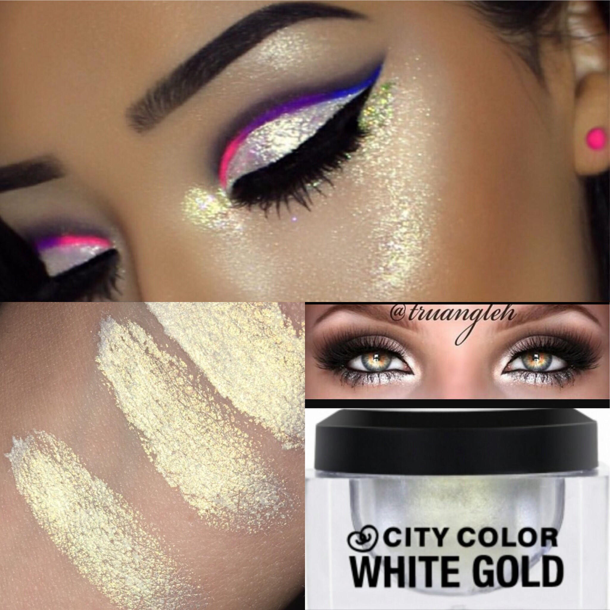 Image of White Gold Highlight Illuminator by City Color