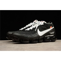 OFF WHITE x Air Vapor Max Flyknit 2018 AA3831-001 Size 36-45