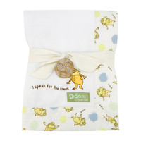 Trend Lab - Receiving Blanket - Framed Dr. Seuss The Lorax