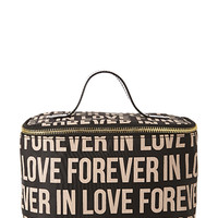 FOREVER 21 Forever In Love Travel Makeup Case Black One