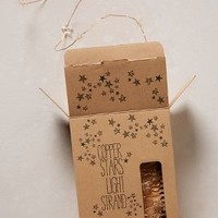 Constellation LED String Lights by Anthropologie Clear One Size House & Home