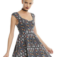 The Nightmare Before Christmas Stained Glass Dress