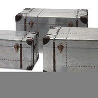 Brewer Aluminum Trunks - Set of 3