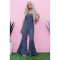 Night On The Water Jumpsuit (Navy)