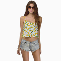 Pineapple Pattern Summer Fashion Style Lovely Women Gift = 4697426820