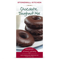 Chocolate Doughnut Mix | Breakfast Baking Mixes | Stonewall Kitchen - Specialty Foods, Gifts, Gift Baskets, Kitchenware and Kitchen Accessories, Tableware, Home and Garden Décor and Accessories