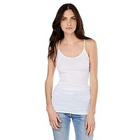 Scoop Neck Camisole, White