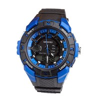 Silicone Multi-functioned Waterproof Stylish Fashion Outdoors Digital Watch [6581742535]
