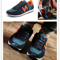 Fashion Casual All-match Male N Words Breathable Comfortable Sneakers Run Shoes