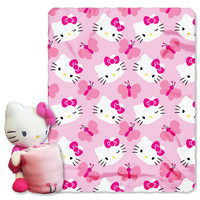 Hello Kitty Butterfly  with Throw Combo