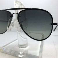 AUTHENTIC RAY BAN SUNGLASSES RB 3584N 153/11 BLACK/GREY GRADIENT LENS 61MM