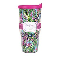 Insulated Tumbler with Lid in Hot Spot  by Lilly Pulitzer