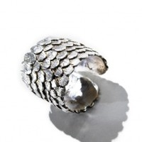 Fish Scale Ring | NOT JUST A LABEL