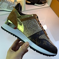 lv louis vuitton womans mens 2020 new fashion casual shoes sneaker sport running shoes 253