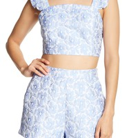 English Factory | Ruffle Strap Crop Top | Nordstrom Rack