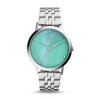 Vintage Muse Three-Hand Stainless Steel Watch