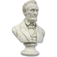 Lincoln Bust Wearing Suit US American President Small 12H