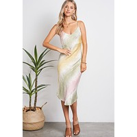 P&M Tie Dye Slip Dress