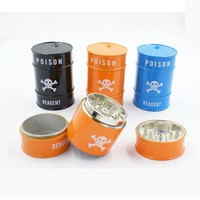 Reagent Herb Grinder Machine Metal for Smoking Weed Hand Muller Grinder Weed for Glass Water Pipe