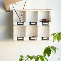 Clark Curio Shelf- White One