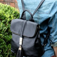 Britton Backpack - Black - Purses