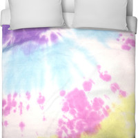 Tie Dye Bed Cover