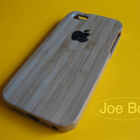 iPhone 5/5S Case, natural wood iphone case, iphone 5 cover,art, iphone 5 case wood,gift,--Sparkle Apple