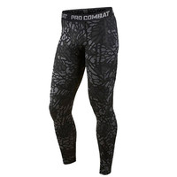 Mens Compression Pants Tights Pants Bodybuilding Jogger Fitness Leggings Trousers
