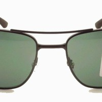 Cheap Ray Ban RB 3528 006/71 Matte Black Green New Sunglasses Authentic Italy outlet