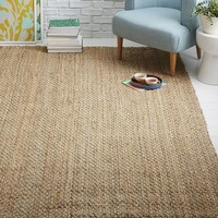 Dotted Jute Rug - Natural/Ivory