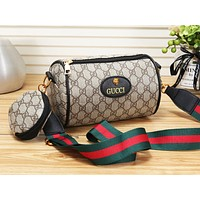 GUCCI LV Fashion Ribbon Print Pillow Bag Shoulder Crossbody Bag