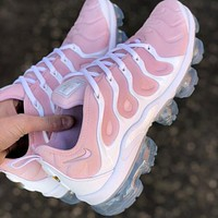 Bunchsun Nike Air Max Vapormax Plus Trending Women Casual Sport Running Shoes Sneakers Pink