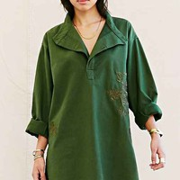 Urban Renewal Recycled Embroidered Military Tunic