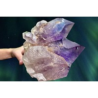 """""""OVERCOME THE ODDS"""" Huge Bolivian Amethyst Geode Cluster 4.25 High Quality JP-166"""