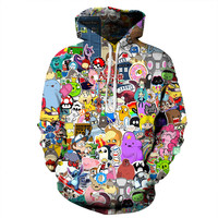 Anime Collage Hoodie