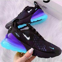 NIKE AIR MAX 270 breathable casual running shoes