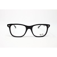 Ray-Ban RX5248 Eyeglasses 2000 Shiny Black 51mm