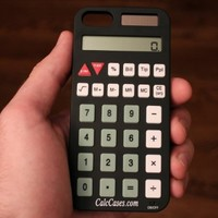 iPhone 5 & 5S Working Calculator Case - Black New Version 2