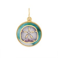 Sand Dollar Art Infusion Charm