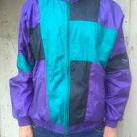 Vintage Puma Jacket /Track top Size M Made in Korea