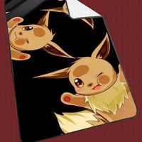 """pokemon Evee lock Screen Kids Blanket Game Blanket All Character Popular Game, Cute and Awesome Blanket for your bedding, Blanket fleece """"NP"""""""