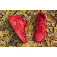 Nike Air Huarache 4 RED Men and Women running shoes 36-46