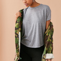 Truly Madly Deeply Dana High/Low Tee | Urban Outfitters
