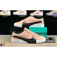Nike SB Blazer Zoom Tide brand low men and women casual wild sports shoes #1