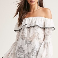 Lace Off-the-Shoulder Top