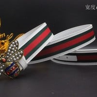 Gucci Belt Men Women Fashion Belts 538092