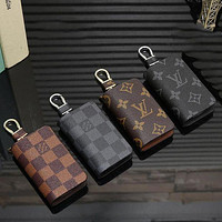 Louis Vuitton LV Hot Sale Fashion Men's and Women's Zipper Car Key Case