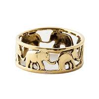 The Elephant Family Ring