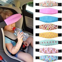 Baby Head Support Fastening Belt Adjustable Pram Strollers Accessories