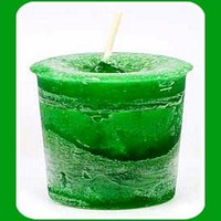 Money Reiki Charged Herbal Votives